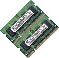 2 GB (2 x 1 GB) DDR2 PC2-6400 800 MHZ Notebook (SODIMM) Memory RAM KIT OS a 200 pin