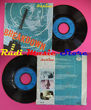 LP 45 7'' JUNIOR Communication breakdown Fame 1983 france MERCURY no cd mc dvd