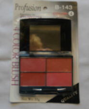 Profusion 4 Color Blush Set in Folding Mirrored Case