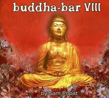 2 CD SAM POPAT BUDDHA BAR VIII BOOKLET
