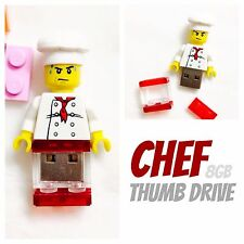 LEGO Minifigure |Cook| USB Flash Drive 8GB Custom