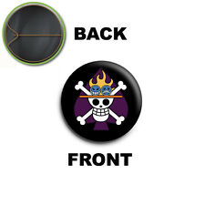 PIN SPILLA 2,5 CM 25 MM One Piece Portgas D Ace logo