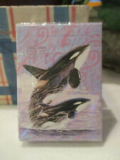 GUY HARVEY Ocean Killer WHALE Playing Cards ~ NEW in Pkg. Cool Gift for DAD!