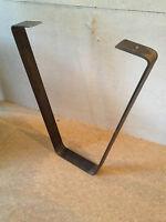 """Pair Of Industrial Style Steel Coffee Table Legs, 12"""", Urban, Reclaimed,Rustic,"""