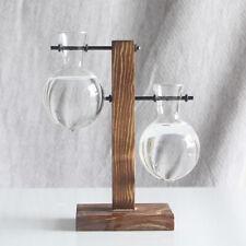 Desktop Hanging Glass Libra Planter Bulb Vase Plants Office Desk Wedding Decor