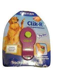 Clik R Clik-R Training Tool Pet Safe PREMIER Pet Clicker Training Tool