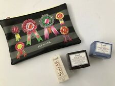 NEW FRESH COSMETICS SAMPLE LOT BLACK TEA OVERNIGHT MASK, SUGAR, LOTUS FACE CREAM