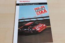 113030) Subaru Legacy - Justy - Libero Prospekt 09/1989