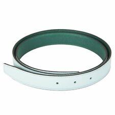 58325 auth HERMES Blue Zephyr & Malachite REVERSIBLE 24mm Belt Strap 110 NEW