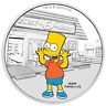 2019 The Simpsons Bart 1 oz Silver Proof Perth Mint COA & Presentation Case