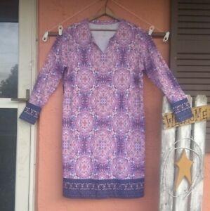 NWOT Coolibar UPF 50+ Women's Oceanside Long Sleeve Dress XL