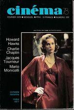 Cinéma78 N° 230/1978 - La Comédie Italienne H. Hawks C. Chaplin J. Tourneur