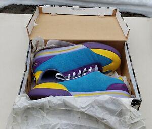 Ice Cream 9.5 Board Flip II Sneakers Yellow Aqua Purple Grey Blue Lavender   Box