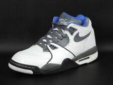 Nike Air Flight 89 Mens Shoes 306252 108 Basketball White Leather Retro Rare DS