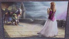 Legend Of Zelda Glossy Art Print 11 x 17 In Hard Plastic Sleeve
