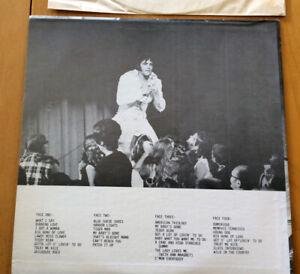"Elvis Presley ""ELVIS FEVER"" LIVE DOUBLE LP"