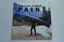 ralph lauren paint River Rock man carrying canoe brochure catalog ad