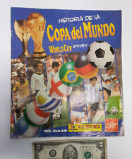 Complete soccer World Cup Story album 1994 Panini Coca Cola Spanish Uruguay vers