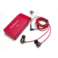 LG QuadBeat 3 LE630 In Ear Headphones LG G4 G3 Original Earphones Red