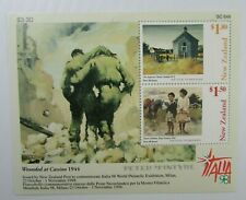 1998 New Zealand SC #1525a Italia 98 MH SS Wounded at Cassino 1944