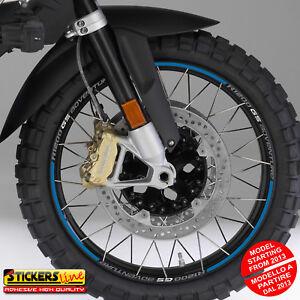 Adesivi cerchi moto BMW R1200GS ADVENTURE versione dal 2013 wheel stickers MOD#2