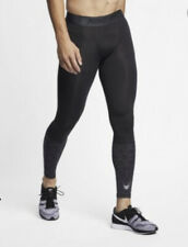 Men's Nike Pro Compression Training Tights Pants Black Size L Large 929699-010