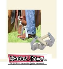 """Cashel Ez Knees Western Horse Show Equitation Saddle Stirrup Turner Rotator 3"""""""