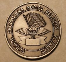 Special Operations Aerial Delivery Element SOADE Military Challenge Coin