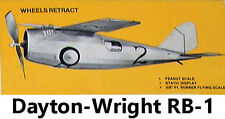 Model Airplane Plans (FF): Jetco DAYTON-WRIGHT RB-I • 5/8 Scale Rubber Powered