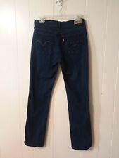 Levis 505 Womens Jeans Size 8 M Straight Leg Stretch Denim