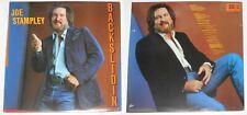 """Joe Stampley - Backslidin' - U.S. 12"""" promo LP vinyl with press kit"""