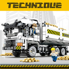 799pcs Technic Engineering Truck Model Building Blocks with Figures Toys Bricks