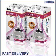 2 x D1S LUNEX XENON HID 8000K LAMPADINE compatibile con 66043 66144 85410 UPT