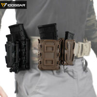 IDOGEAR Tactical 5.56 Magazine Pouch 9mm Mag Carrier MOLLE Magazine Holder Gear