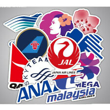 Airline Logo Stickers Decal Aviation Travel PVC Waterproof For Suitcase Laptop