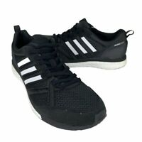 Adidas Mens Adizero Tempo 9 Running Shoes Black Lace Up Low Top B37423 9.5 New