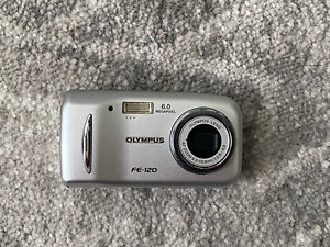 Olympus FE FE-120 6.0MP Digital Camera - Silver