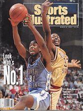 Sports Illustrated 1993 NORTH CAROLINA TAR HEELS Basketball BRIAN REESE No Label