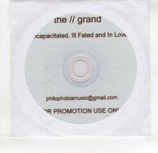 (HS940) The Grand, Incapacitated, Ill Fated & In Love - DJ CD