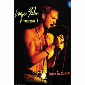 60717 Alice in Chains (Layne Staley 1967-2002) Music Wall Print POSTER AU