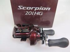 SHIMANO Scorpion 201HG Left Baitcasting Reel 201 HG & Chemical Light