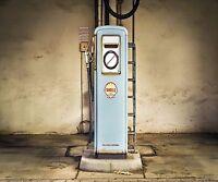 OLD VINTAGE GAS PUMP COMPUTER MOUSE PAD  9 X 7
