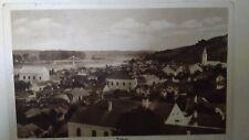 Tokaj Judaica Rare Old Postcard Jewish Synagogue 1932 Hungary RARE Israel