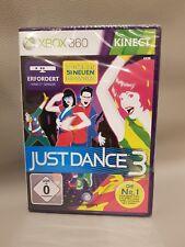 Xbox 360 Just Dance 3 • BRANDNEU • EINGESCHWEIßT • Kinect