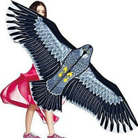 NEW Huge 1.5m Eagle Kite single line Novelty animal Kites Children's toys