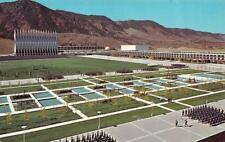 Co, Colorado Springs Us Air Force Academy~Cadets to Dining Hall Chrome Postcard