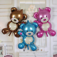 3 COLOURS Mini Foil Balloons Teddy Bear Children Toys Birthday&Party Decoration