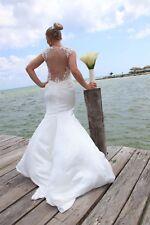Ladies Cosmobella 7720 Wedding Dress Size 10/12