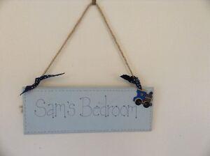 """Kids Nameplate """"Sam"""""""