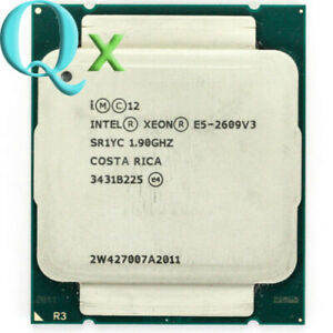 Intel Xeon E5-2609 V3 CPU Processor SIX-Core 1.90GHz SR1YC 15MB 85W LGA 2011-3